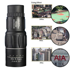 16X52 Dual Focus Monocular Telescope 16x Zoom Monoculars 66M/8000M HD Scope New