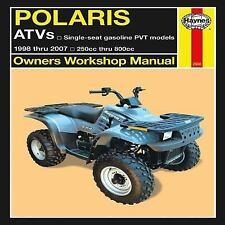 1998-2007 Polaris 250 800 Big Boss Magnum Xpress Repair Manual 04 2005 2006 9538