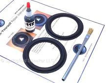 "2 Butyl Rubber 4"" Speaker Surround Repair Kit - Woofer - 2BR4"