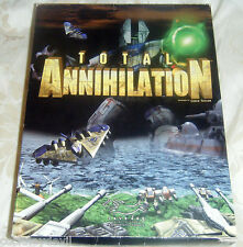 Total Annihilation 1997 big box issue  PC game classic RTS Rare now