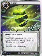 Android Netrunner LCG - 1x Patch  #021 - System Crash Corporation Draft Pack