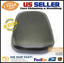 Backrest Sissy Bar Cushion Pad - Honda Yamaha Suzuki Kawasaki Harley Rectangular