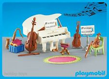 * Playmobil * Victorian Mansion / School Music Piano Musical Instruments * NEW *