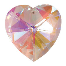Heart Shaped Window Hanging Crystal Rainbow Suncatcher - New House / Baby Gift