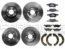 FOR CHRYSLER GRAND VOYAGER 2.5 3.3 CRD FRONT REAR DISC PADS HAND BRAKE SHOES