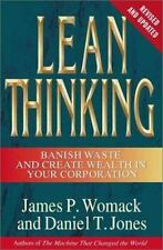 Lean Thinking : Banish Waste and Create Wealth in Your Corporation, Revised and