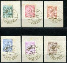 ALBANIEN 1913 29-34 gest GOLDENER SST 1000€(Z7577
