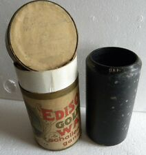 2-Min-Wax-Walze-Cylinder-Phonograph-Record-Edison-Kärntner G´mueath-LUDWIG ARNO