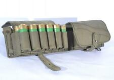 Shotgun Shell Belt Carrier Holder 24 Shells Ammo Cartridge Pouch Leather 12GA