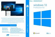 Windows 10 pro (64bit) OS BOOT DVD (For ACTIVATION Process Pay Rs.300 Extra)