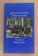TRAUMNOVELLE By Arthur Schnitzer  (Hardcover, 1981) Printed in Germany  (4202)