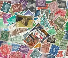 50 GB stamps - All Different selection of Used Stamps