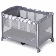 JOIE Commuter cambiare Baby Travel Cot in Cloud GREY-dalla nascita fino a 15kg