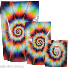 Quality Odor Smell Proof Waterproof Battle Shield Stealth Tie Dye Small 15 Bags