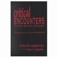 Critical Encounters in High School English: Teaching Literary Theory t-ExLibrary