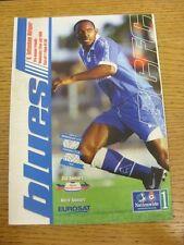 22/07/1998 Birmingham City v Tottenham Hotspur [amigable] (mancha en la parte delantera Trus).