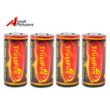 4X TrustFire TF32650 3.7V 6000mAh Rechargeable Li-ion Battery Cell For Torch