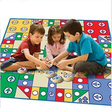 Plastic 82x82cm Baby Soft Flying Chess mat Aeroplane Chess blanket game Rug