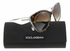 New Dolce & Gabbana Sunglasses Women DG 4220 Havana 2795/13 3 Layers 55mm