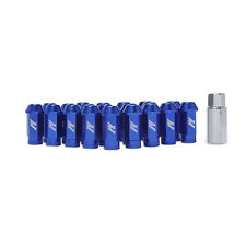 Mishimoto Aluminium Locking Wheel / Lug Nut Set - M12 x 1.5 - Blue