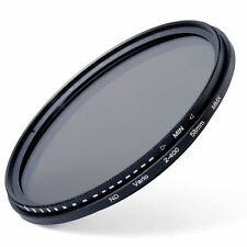 58mm Slim Fader Variable ND Filter for Canon Rebel XS T5i T4i T3i T2i T1i LF111