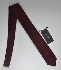 NWT Hugo Boss Black Label By Hugo Boss Wool-Silk Tie 'Tie 6 cm'