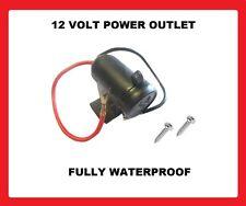 12 VOLTS Waterproof allume-cigare power socket voiture Van moto moto 12v