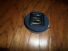 US MILITARY STYLE NAVY BLUE WEB BELT WITH BLACK OPEN FACE BUCKLE