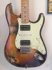 Relic Stratocaster Electric Guitar Aged Road Used Worn