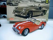 1:18 Kyosho Triumph TR3A rot red  NEU NEW