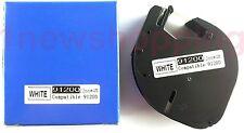 2PK compatible Dymo LetraTag LT 91200 WHITE PAPER LABELS Tapes LT100H  LT100T