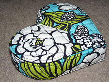 Beautiful HEART SHAPED VERA BRADLEY Quilted Jewelry Box Valentine From My Heart