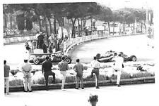 DENNY HULME BRBAHAM BT20 QUALIFYING 1966 MONACO GP ORIGINAL PERIOD F1 PHOTOGRAPH