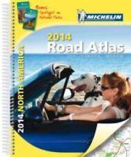 Michelin North America Road Atlas 2014 (Atlas (Michelin)), Michelin, Excellent B