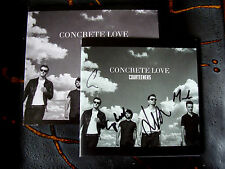 Slip Double: Courteeners : Concrete Love Deluxe Edition CD, DVD & SIGNED Booklet