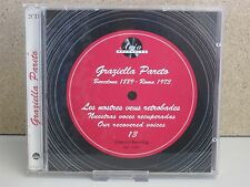 GRAZIELLA PARETO: OUR RECOVERED VOICES 2-CD (Rare Opera/Songs from 78 rpm Recs)