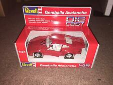 1990 REVELL 1:24 SCALE DIE CAST CAR - GEMBALLA AVALANCHE    NIB