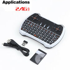 Mini Wireless Keyboard Rii i8 2.4G Fly Air Mouse Touchpad fr PC TV Box TV Dongle