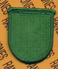 US Army 10th Special Forces Group Airborne SFGA beret flash patch #6 m/e