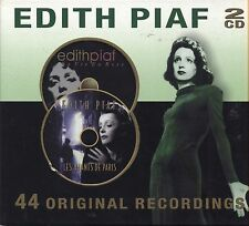 EDITH PIAF - 44 Original recordings - La vie en rose / Les amants - 2 CD 2001 NM