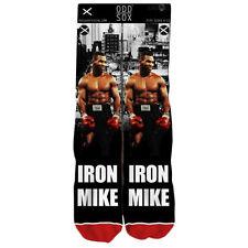 Odd Sox Men's Mike Tyson Standard Socks Black skate boxing cool dope brand new