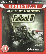Fallout 3 Game Of The Year Essentials PS3 GOTY * NEW SEALED PAL *