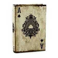 Ace of Spades Book Box.Cool Decoration on bookshelves,desks,coffee tables,& more