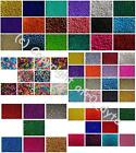 100 Pony Beads in Different Colours and Finishes 9x6mm Barrel Shape