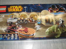 LEGO STAR WARS 75052  MOS EISLEY CANTINA  with 8 minifigures +  dewback Han Solo