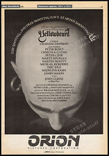 YELLOWBEARD__Original 1982 Trade AD promo / poster__GRAHAM CHAPMAN__ERIC IDLE