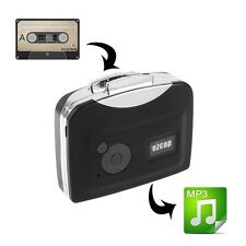 Portable ezcap 230 usb cassette to MP3 convertisseur capture avec la lecture-noir