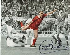 Liverpool v AS Roma 1984 European Cup Final Phil Neal signed photo UACC RD