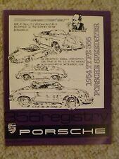 1986 Porsche 356 Registry Magazine Vol# 11 No. 1, RARE!! Awesome L@@K