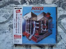 ACCEPT Metal Heart CD JAPAN OBI, UDO